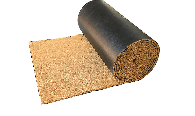 PVC Tufted Coir Mats - Natural Rolls