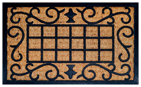 Rubberised Coir Mats - Coir Non-Brush Mats